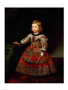 The Infanta Maria Margarita of Austria as a Child