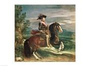 Equestrian Portrait of Philip IV