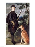 Portrait of Cardinal Infante Ferdinand of Austria with Gun and Dog, 1632