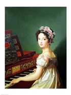 The Artist's Daughter at the Clavichord