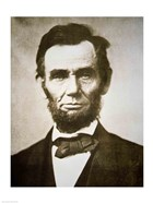 Abraham Lincoln - black and white