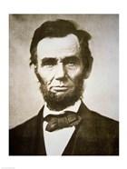 Abraham Lincoln - black and white