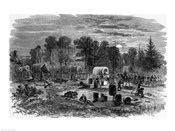 Blenker&#39;s Brigade Covering the Retreat Near Centreville, July 1861