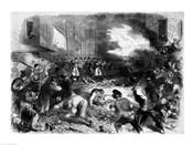 The Sixth Regiment of the Massachusetts Volunteers Firing into the Mob on Pratt Street