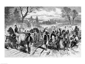 The Effects of the Proclamation: Freed Negroes Coming into Our Lines at Newbern, North Carolina