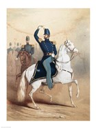 Cover of a music song sheet for the Boston Light Dragoons