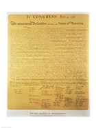 Declaration of Independence of the 13 United States of America of 1776