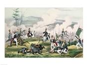 The Battle of Palo Alto, California, 8th May 1846