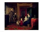 Portrait of the Van Cortland Family, c.1830