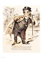 Caricature of Chester Alan Arthur, c.1883