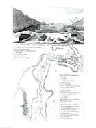 A Perspective View of Lake George and a Plan of Ticonderoga