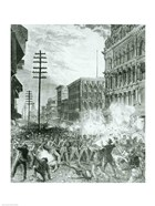 The Great Strike: The Sixth Maryland Regiment Fighting Its Way Through Baltimore