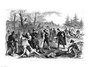 Scenes in the War: Rebel Soldiers after Battle 'Peeling'