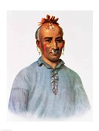 Kish-Kal-Wa, a Shawnee Chief