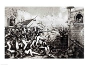 Battle of Monterey: The Americans Forcing their Way to the Main Plaza