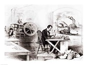The Progress of the Century: The Lightning Steam Press, the Electric Telegraph, the Locomotive and the Steamboat