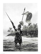 Balboa Claiming Dominion over the South Sea