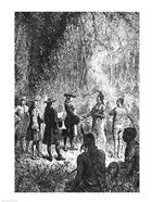 Moravian Missionaries Among the Indians