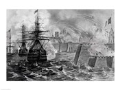 Victorious Bombardment of Vera Cruz by the United Forces of the Army and Navy of the US