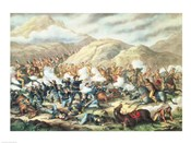 The Battle of Little Big Horn, June 25th 1876