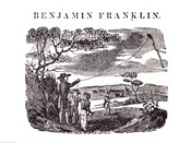 Benjamin Franklin Conducts his Kite Experiment