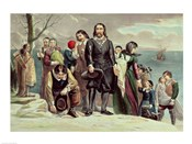The Landing of the Pilgrims at Plymouth, Massachusetts, December 22nd 1620
