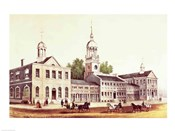 Independence Hall, Philadelphia, 1776