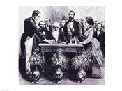 Professor Samuel Finley Breese Morse Explaining the Function of his Invention