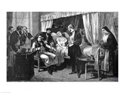 Performing the Operation of the Transfusion of Blood at the Hospital of Pity