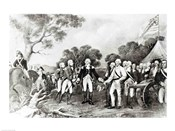 The Surrender of General Burgoyne Saratoga, New York, 17th October 1777