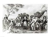 The Surrender of General Burgoyne Saratoga, New York, 17th October 1777