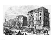 New York City: Demonstration of the Colored Inhabitants of New York in Honor of the Adoption of the Fifteenth Amendment