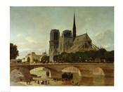 Notre Dame, Paris, 1884