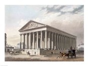 Exterior view of the Madeleine, Paris