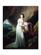 Portrait of a Woman in a Cave