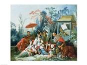 The Chinese Garden, c.1742