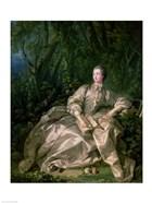 Madame de Pompadour, 1758