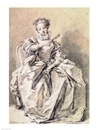 Woman in Spanish Costume