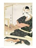 Woman Weaving