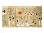 Mythological papyrus of Imenemsaouf