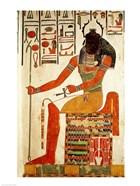 The god, Khepri