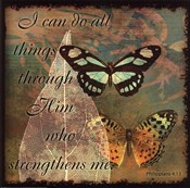 Butterfly Sentiments...I Can Do