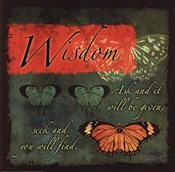 Butterfly Sentiments...Wisdom