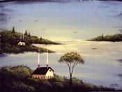 Salt Box by the Lake I