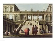 Castle Courtyard, 1762