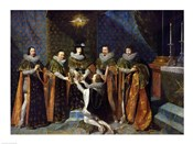 Louis XIII Receiving Henri d'Orleans