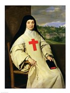 Mother Angelique Arnauld Abbess of Port-Royal, 1654
