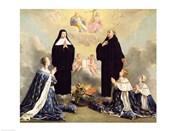 Anne of Austria and her Children at Prayer