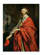 Portrait of Cardinal de Richelieu
