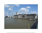 The London Eye and the Aquarium